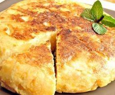 Tortilla de patatas con cebolla Thermomix
