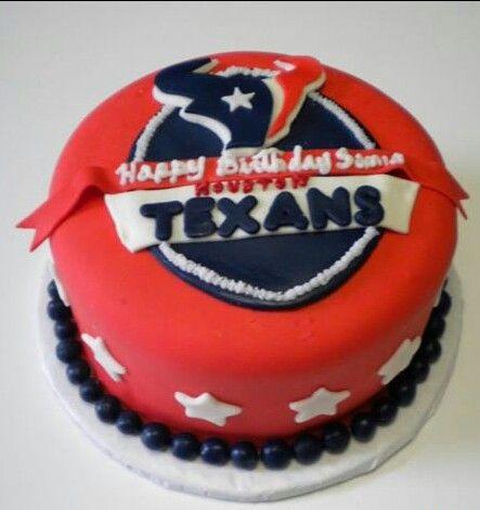 Houston Texans Birthday Cake Yum Shane Party Jpg 443x470