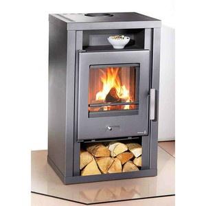 Wamsler Wood Burning Stove - 6.5Kw - Contemporary Woodburner - Log Burner | eBay