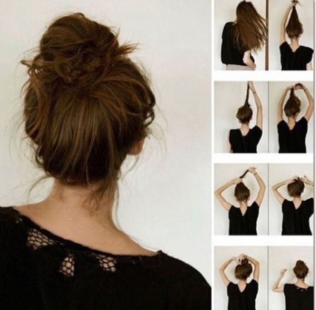 27 best hairstyles images on pinterest braids decoration and messy bun hairstyles for those days that im feeling lazy pmusecretfo Image collections