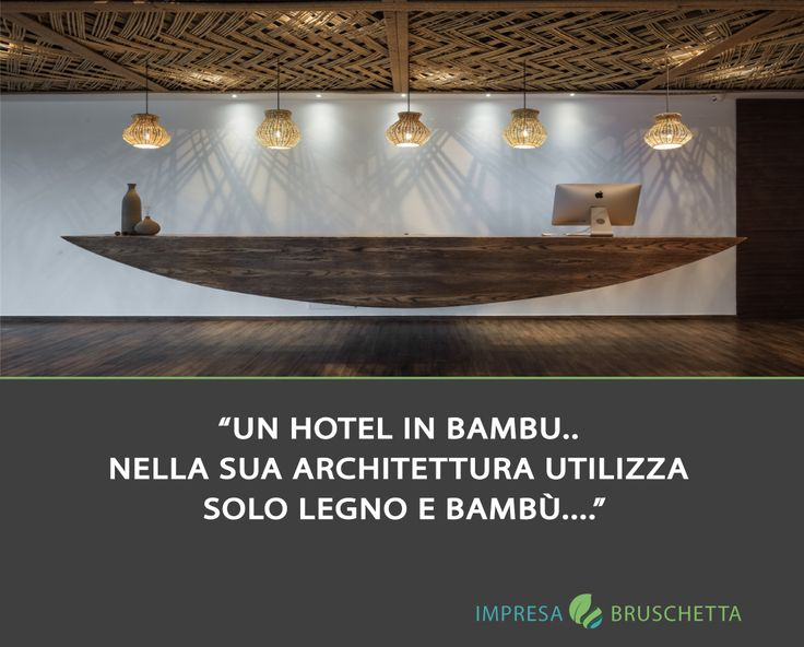 UN HOTEL IN BAMBU  situato nel lago Qiandao in Cina e circondato dalla miriade di montagne, questo albergo progettato da XL-muse è derivato da un senso completamente ecologico. Integra materiali locali, texture, tessuti e ambiente circostante, nella sua architettura utilizza solo legno e bambù.