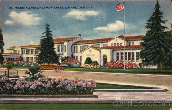 Herbert Hoover Junior High School San Jose California