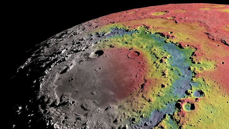 Subsurface map of moon reveals origin of mysterious impact crater rings