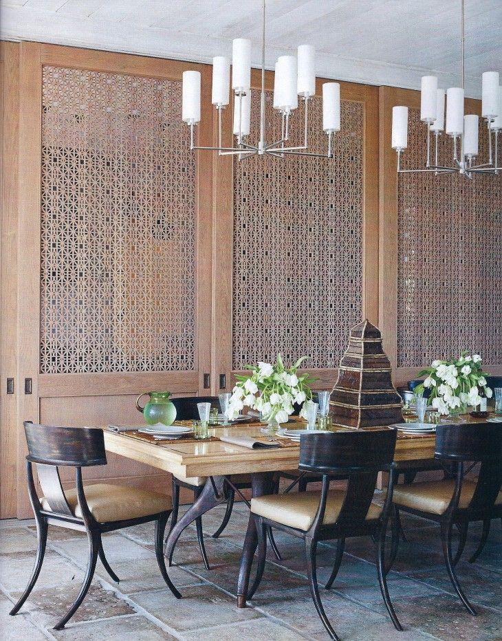Laser Cut Oak Fretwork Panels By Thomas Hamel - pictures, photos, images