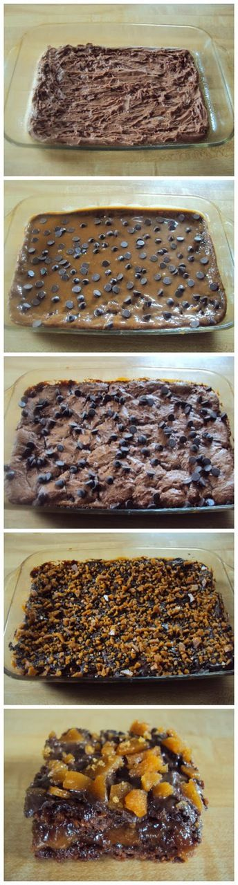 Caramel Toffee Brownies Recipe