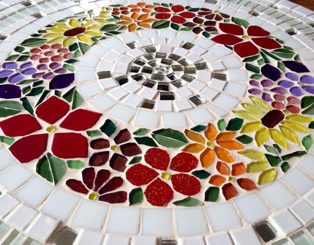 Trabalhos em Mosaico: Prato - Giratorio em Mosaico                                                                                                                                                                                 Mais