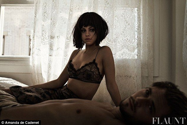 Hitting back: In a new interview with Flaunt magazine, Selena Gomez hits back at New Zealand singer Lorde as she poses in a racy photo shoot...