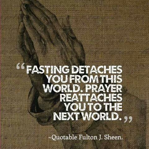 Nehemiah had a time of prayer and fasting upon learning that Jerusalem was still in ruins (Nehemiah 1:4).