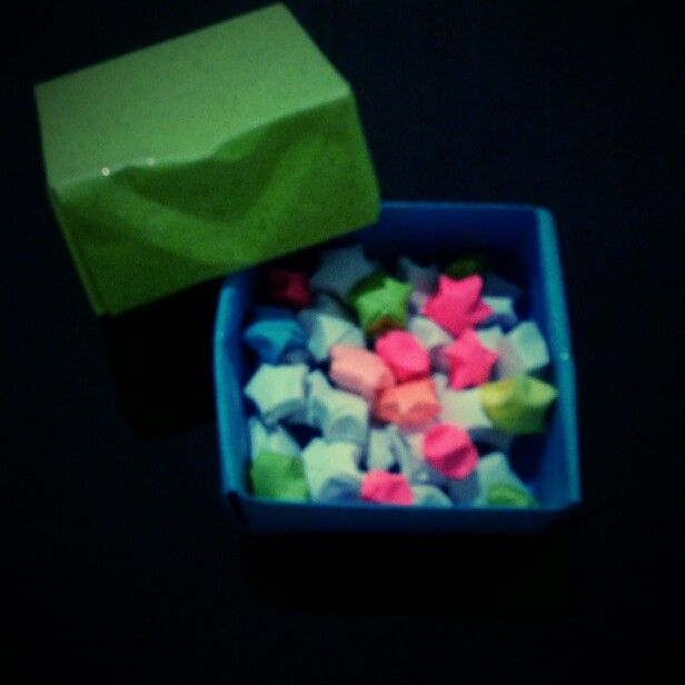 Origami Box + Lucky Stars
