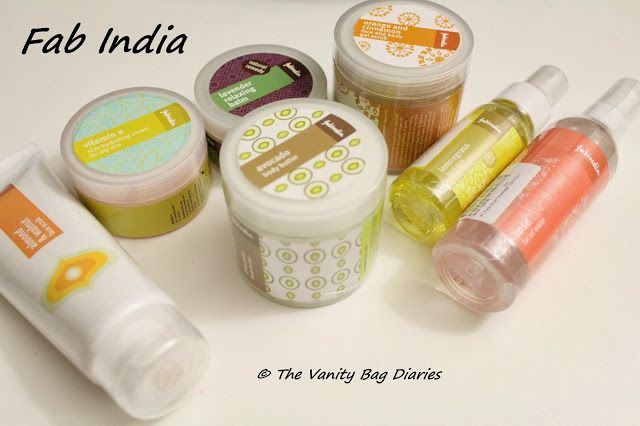 We are doing Haul-a-thon this week, see the previous haul HERE, in case you missed it. So let's go straight to the good stuff.     I got me some Fab India skin care. I bought an almond and walnut face scrub, vitamin E face cream, avocado body butter, orange and cinnamon body scrub, lavender relaxi
