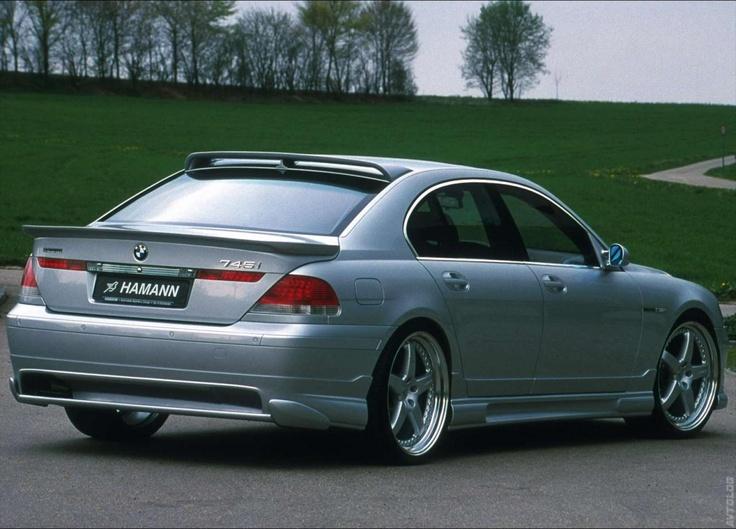 2003 745Li custom springs and air links.. spacers.. custom