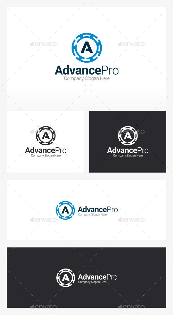 A Logo  Auto Logo — Vector EPS #tech #a • Available here → https://graphicriver.net/item/a-logo-auto-logo/13097401?ref=pxcr
