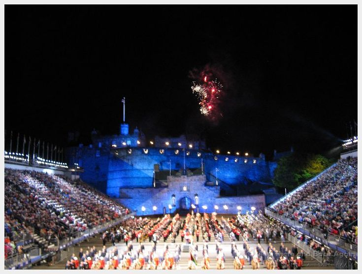 Visiting Edinburgh during the summer?  Consider a visit to the famous Edinburgh Military Tattoo featuring the very best of Scottish pageantry and culture!