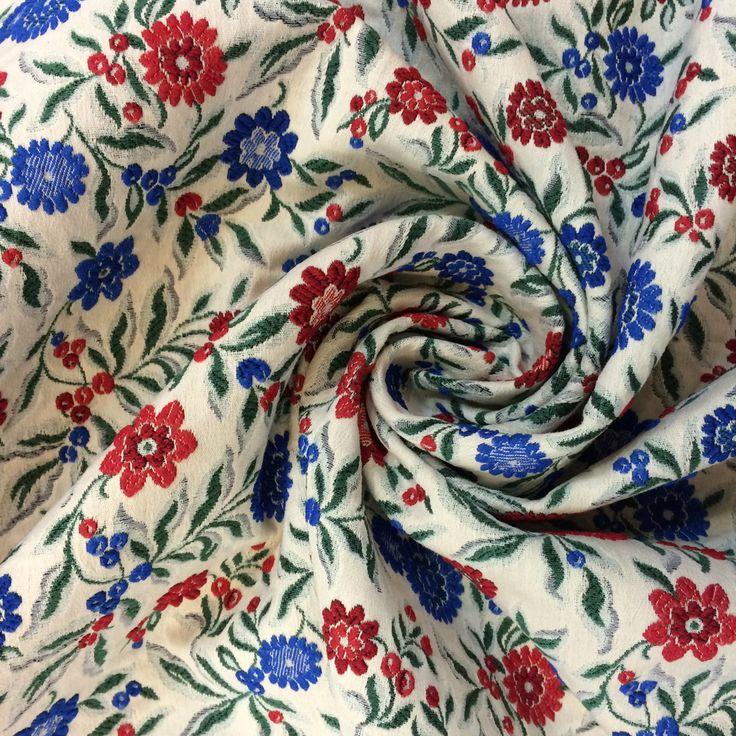 Haute couture luxury jacquard viscose fabric buy online ...