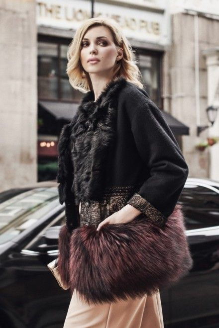 Зимний жакет Леся Winter Fur Coats, Cute Coats, Winter Chic, Fur Jacket, 169d316697e