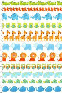 ABC Safari by Dianne Eichler | Studioe Fabrics