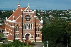 Sacred Heart Church. Also at the top of my street. My oldest son was baptised here - lovely church!