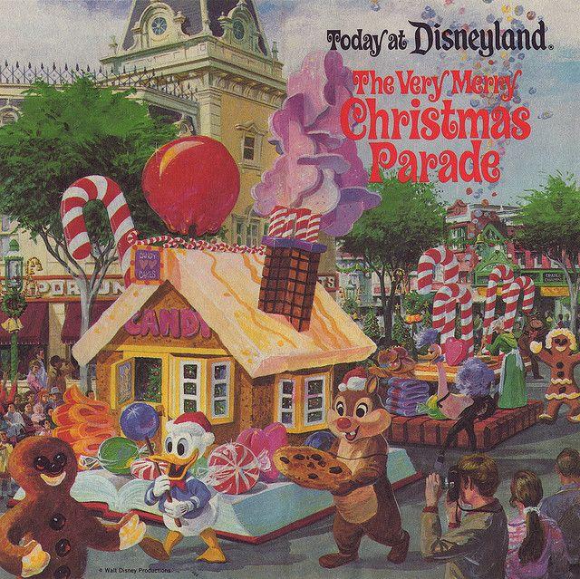 Disneyland Christmas Parade 1977