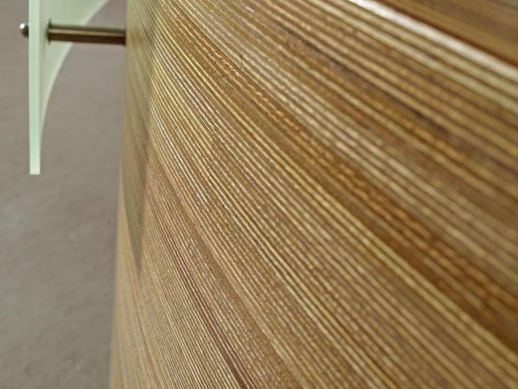 Wooden wall tiles PANEL FLEXIBLE by Plexwood