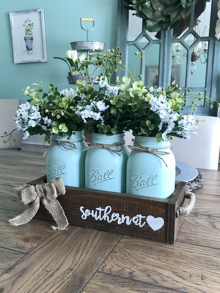A personal favorite from my Etsy shop https://www.etsy.com/listing/522800602/mason-jar-home-decor-mason-jar