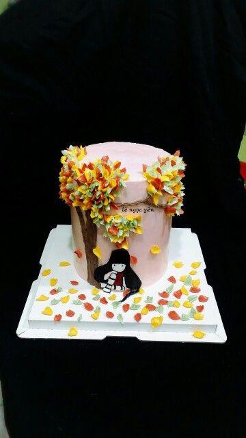 #cakesforgirls #cakeartistry #flowercakes #buttercreamcake https://mobile.facebook.com/le.n.yen.7?ref=bookmarks