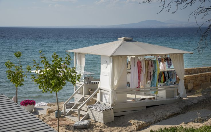 Apoella Cabana store at Sani Resort, Halkidiki, Greece, Bousoulas Beach