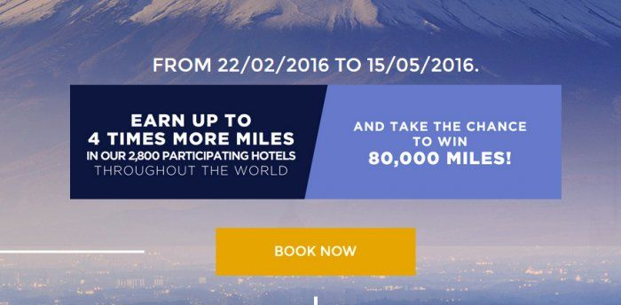Le Club AccorHotels Air France-KLM Flying Blue Up To Quadruple Miles February 22 – May 15, 2016 | LoyaltyLobby