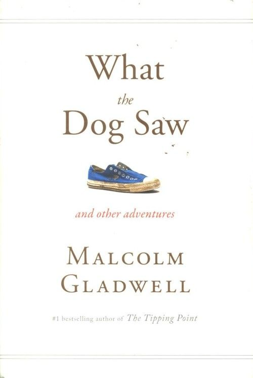 3.7: my first overdrive book. read by gladwell, to his disadvantage #16 of interest: your first impression may color your subsequent experience, rightly or wrongly. Is this article the precursor to blink?