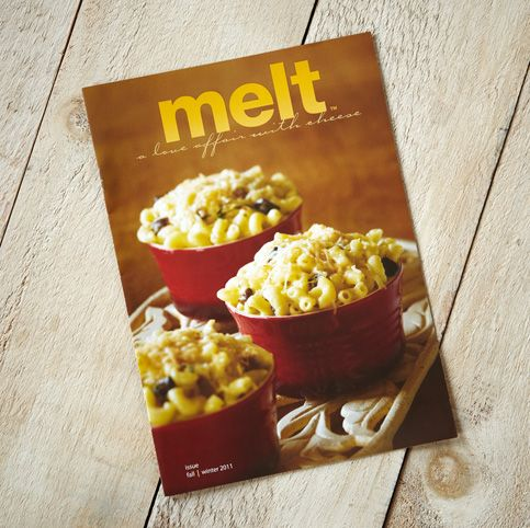 Food Photography of Macaroni and Cheese for Tre Stelle Fall/Winter 2011 issue of Melt Magazine [BP imaging - Bochsler Photo Imaging]