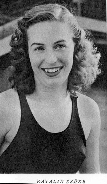 Szőke Katalin  -  helsinki kétszeres olimpiai bajnok úszónője 1956. évi Melbourne-ben rendezett nyári olimpián 4x100 méter gyors váltóban hetedik helyen végzett.