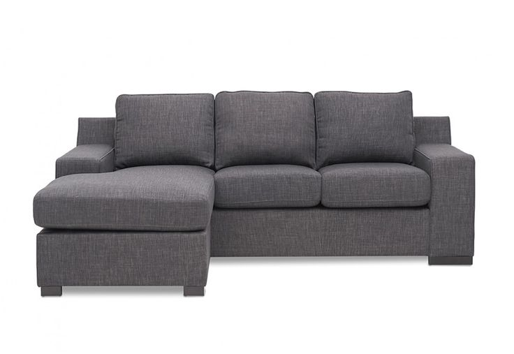 Marshall 3 Seater Sofa with Chaise | Super A-Mart perfect for the smaller lounge room  #superamartpin2win