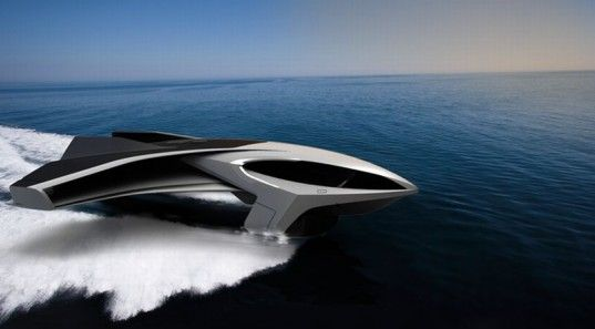 "Hydrogen-Powered ""Flying Yacht"" Based On the Ekranoplan 