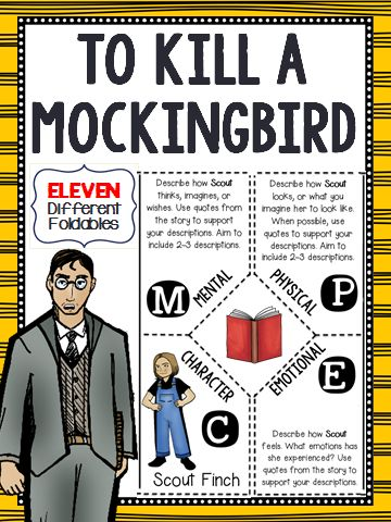 In Harper Lee's To Kill a Mockingbird, what characters represent a mockingbird?
