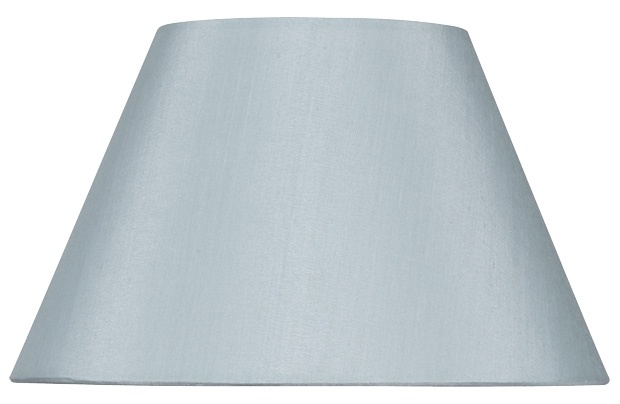 and the shade for the lamp base for the bedroom- in duck egg blue