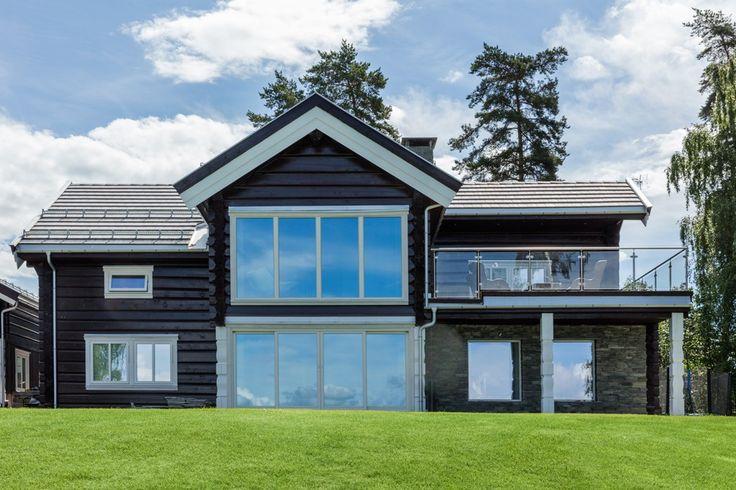 Spektakulær utsikt gjennom smarte vinduer - Byggmakker+