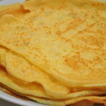 Ma recette du jour : Crêpes de la Chandeleur sur Recettes.net#recette #cuisine #dessert #crepe