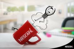 Fotomontajes Nescafé on Behance