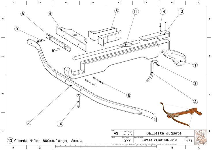 Comprobado: FUNCIONA!!   Alcance 25 metros         Detalle del corte del mecanismo con el muelle