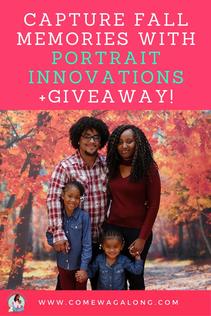 Capture Fall Memories with Portrait Innovations + Free Halloween Event & Giveaway! #PortraitInnovations #sponsored