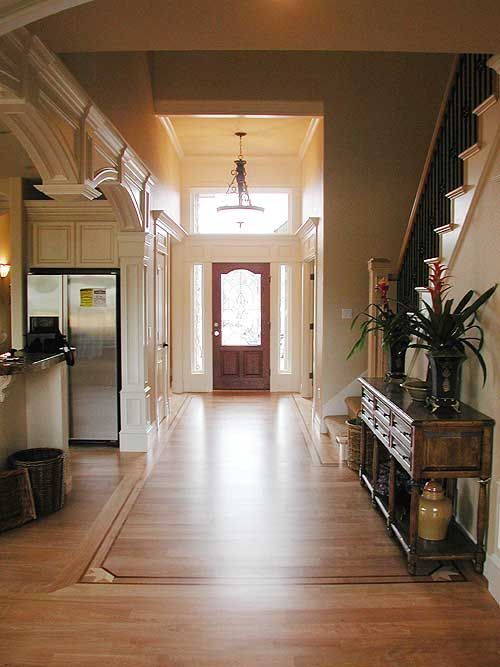 """Say """"Hello"""" to the inside of Architectural Designs House Plan 69225AM.  Lots of photos outside and in, including a great one from the balcony looking down on the great room below!"""