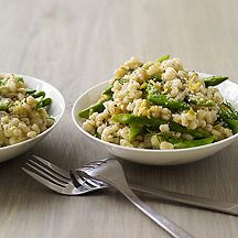 Spring Vegetable and Barley Risotto Recipie