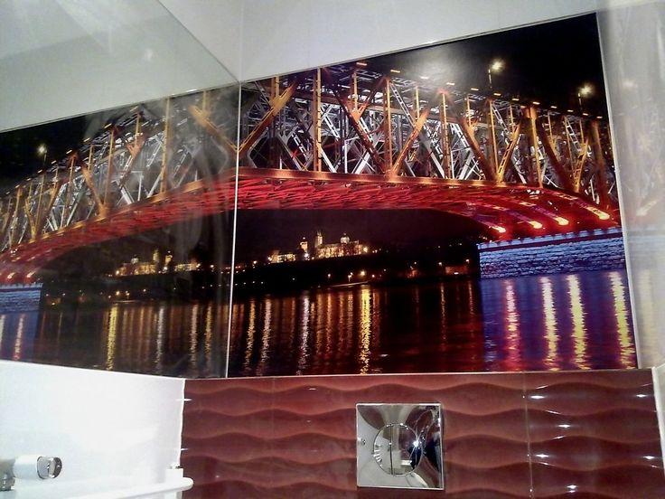 fototapeta z lustrzanym odbiciem  #fototapeta #remont #lodz #plytki
