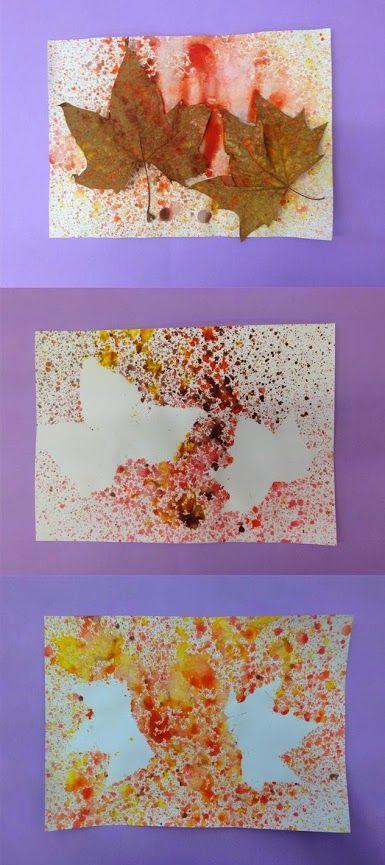 Fulles Material: paper, fulles de plataner, pintura Nivell: Primària 2014/15 Escola Pia Balmes