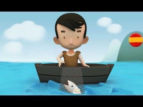 Cuenta este cuento como un pescador muy pobre, se encontró a un pez encantado, que le mandó a buscar un castillo, y con la ayuda de un león, una paloma y una pulga, pudo entrar en el castillo y echar al ogro.  El pez realmente era el Rey que le habían encantado, y gracias a eso, recuperó su forma humana y nombró heredero al pescador.