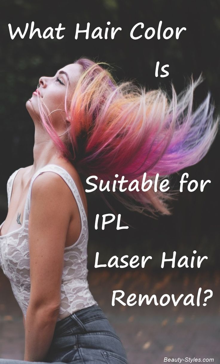What Hair Color Is Suitable for IPL Laser Hair Removal?
