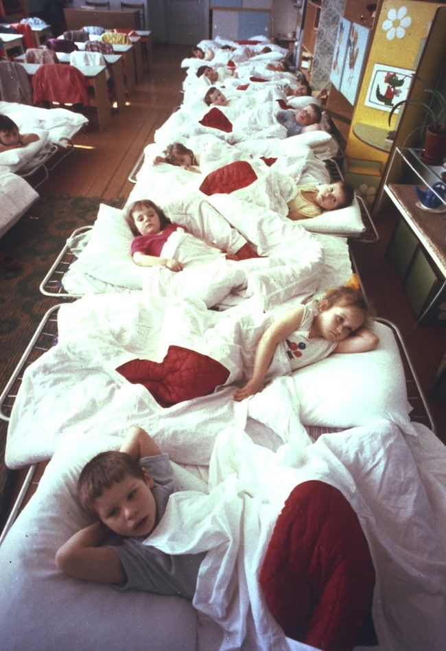 On April 21, 1990, young children on a collective farm are patients on a ward in Syekovo, a village not far from the Chernobyl nuclear plant. Four years after the April 26, 1986 Chernobyl accident, these children were suffering intestinal problems from exposure to radiation. A Soviet newspaper has said scientists still expect thousands of deaths from radiation released in the Chernobyl explosion and fire.
