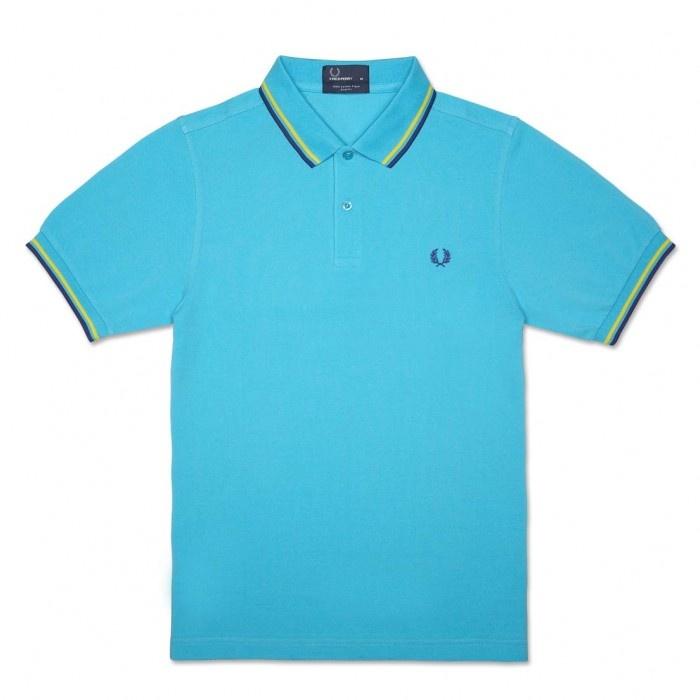 Polo Slim Fit Azul Cielo Vivos Amarillo Marino CD2594C63  79 €  http://galery.es/tienda/polo-slim-fit-azul-vivos