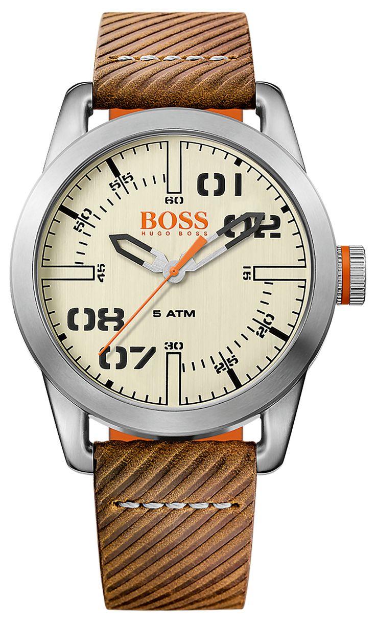 BOSS Orange Oslo Quartz Watch silver