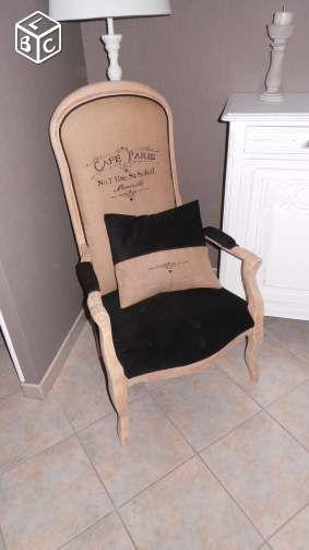 les 45 meilleures images du tableau relooking chaise voltaire sur pinterest fauteuils chaise. Black Bedroom Furniture Sets. Home Design Ideas