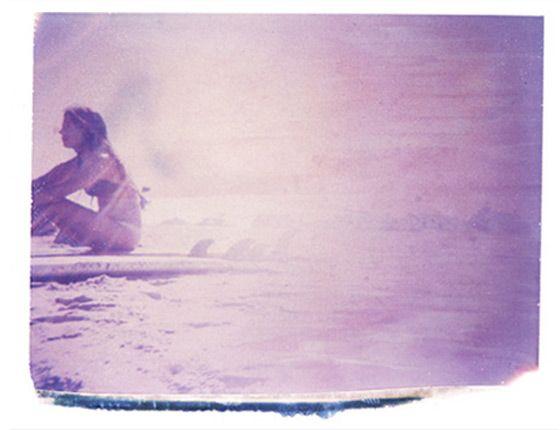 Nostalgic Moments Captured Through Polaroid Transfers